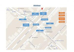 plattegrond Maliebaan
